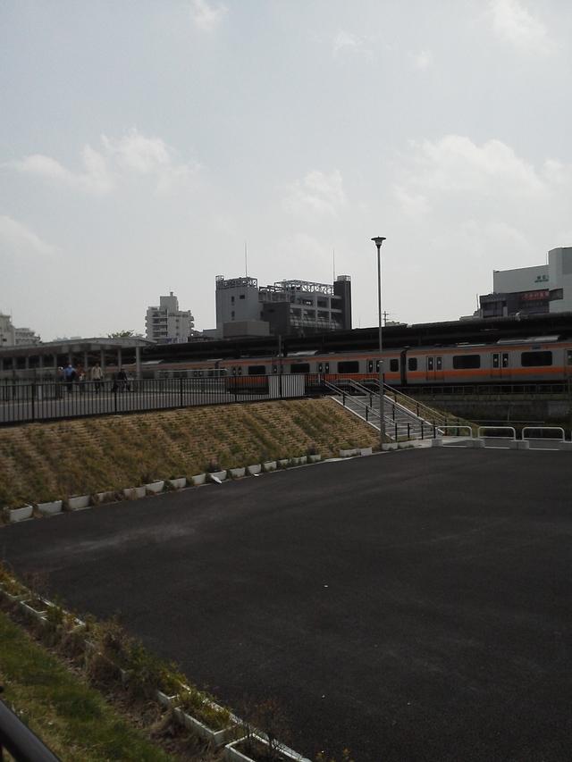 中野駅と中央線