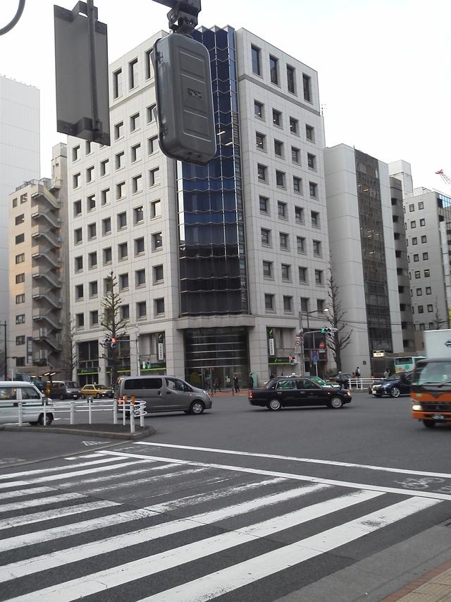 宝町駅の交差点
