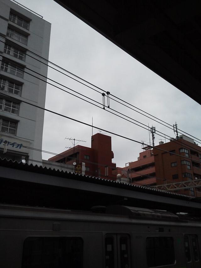 笹塚駅ホームから