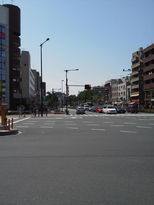 要町の交差点