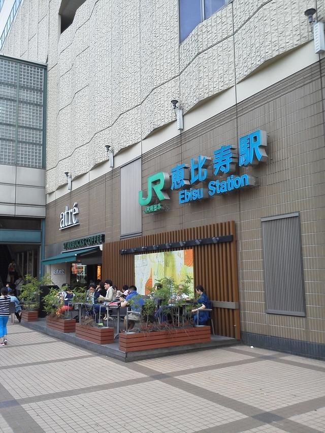 JR恵比寿駅駅
