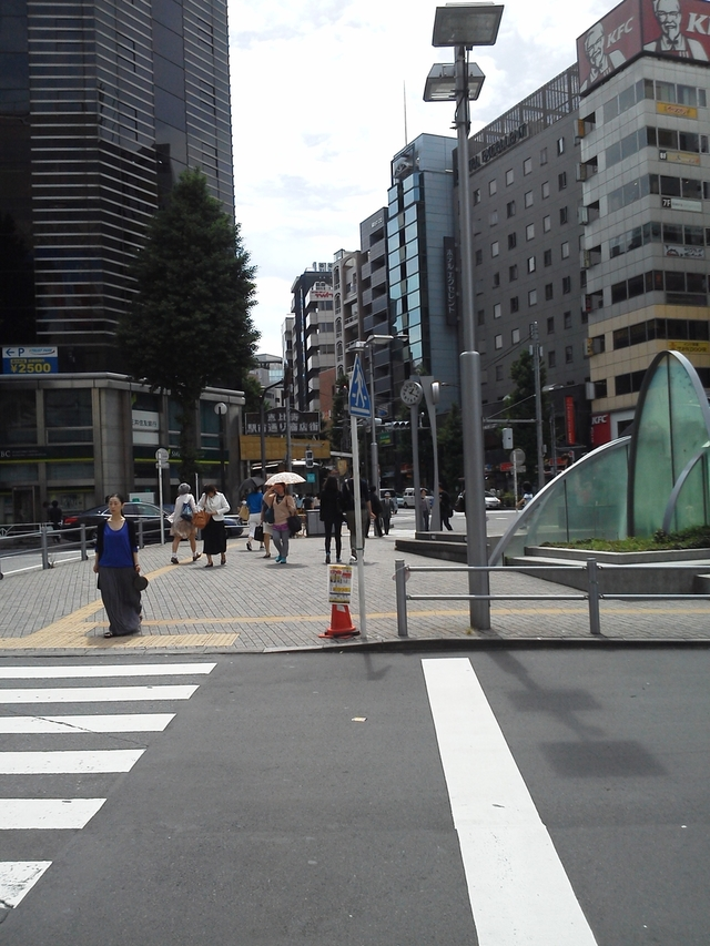 恵比寿駅西口風景
