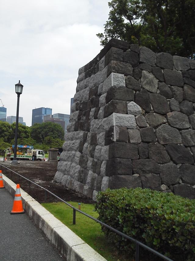 祝田橋石垣