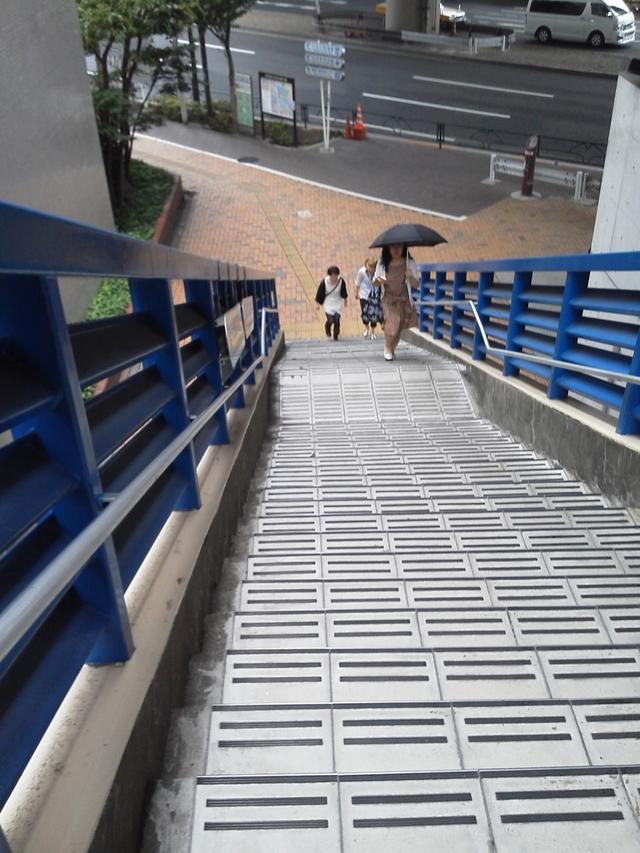 飯田橋駅歩道橋