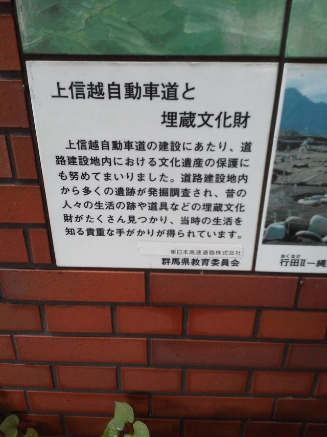 上信越自動車道と埋蔵文化財