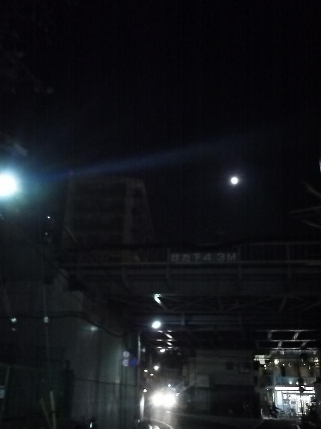 東横線ガード 光明泉付近