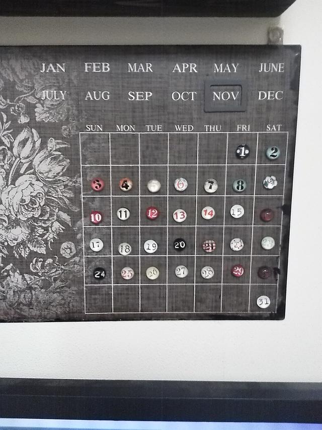 2013/11カレンダー
