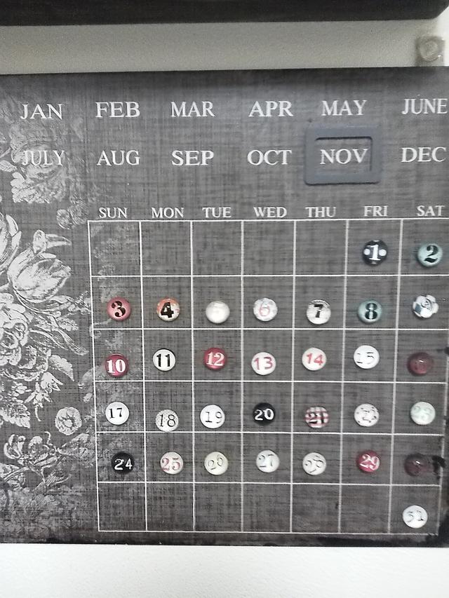 カレンダー2013/11
