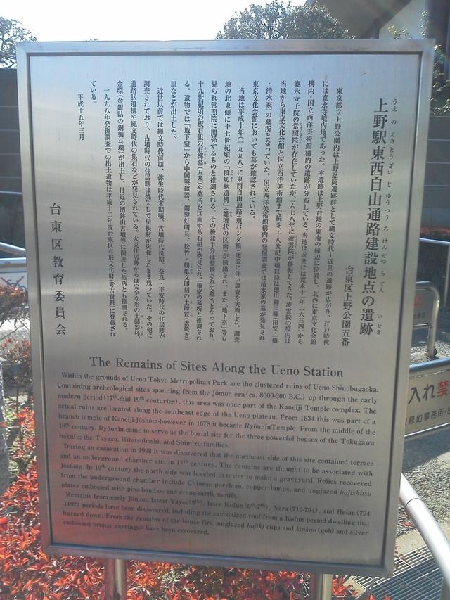 上野駅東西自由通路