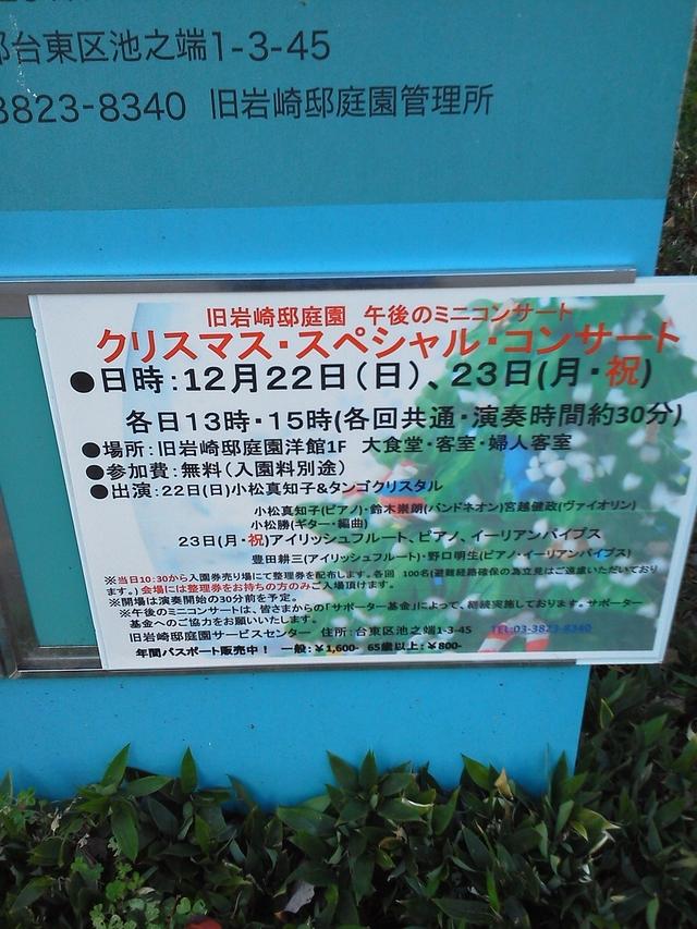 旧岩崎邸庭園クリスマス